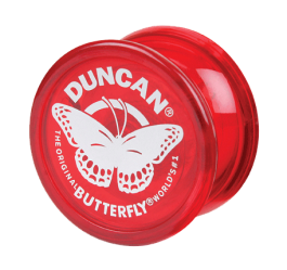 Duncan Butterfly Red
