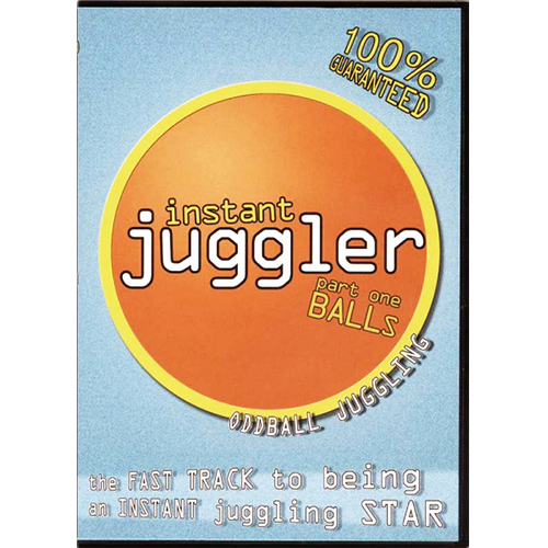 Instant Juggler Ball Juggling DVD