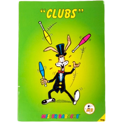 Mr-Babache-Juggling-Clubs-Book
