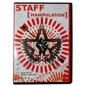 Instructional DVD Staff Manipulation DVD For Staff Spinning