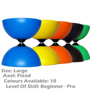Large Rubber Henry's Circus Fixed Axle Diabolo