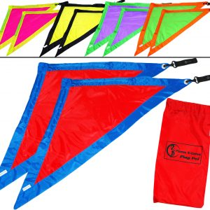 Great Quality Flag Angel Wing Fabric Poi