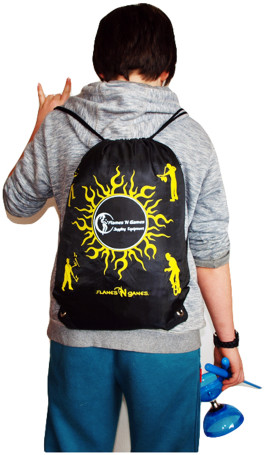 Our Very Own Flames N Games Travel Bag