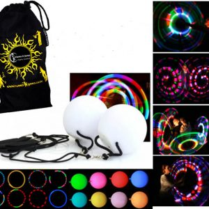 Soft and Safe Kids LED Glow Poi Multi Function