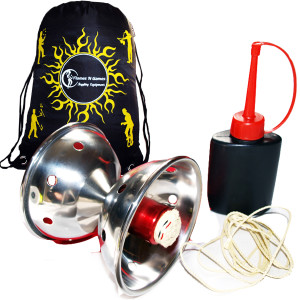 Amazing Fyrefli Meteor Fire Diabolo String Bottle Bag Set