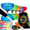 Large and Fast Juggle Dream Hurricane Triple Bearing Diabolo Set with String and Bag