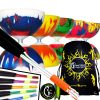 Highly Colourful Radiant Bearing Diabolo Sets Ali Sticks and Bag