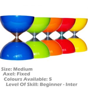 Fantastic beginner Rubber Top Diabolo