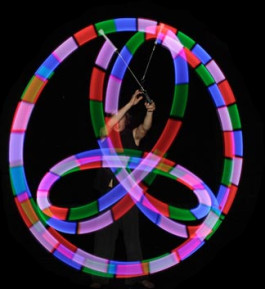 Soft and Safe Kids LED Glow Poi Multi Function.
