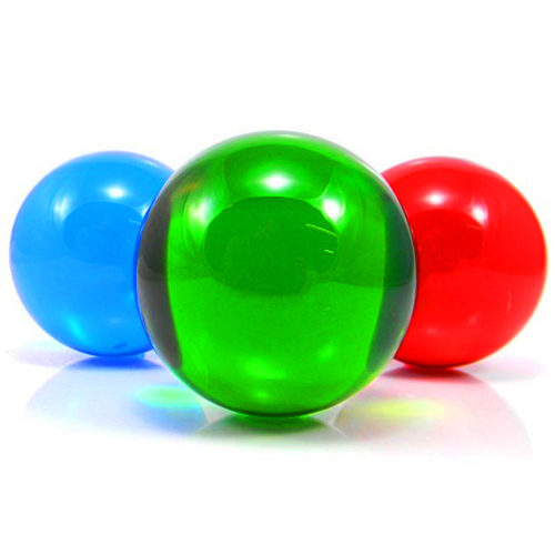 Coloured-Contact-Juggling-Balls