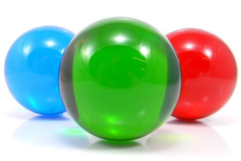 FNG Coloured Acrylic Contact Balls