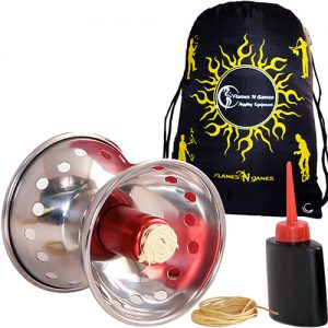 Amazing quality Fyrefli Comet Fire Diabolo String Bottle and Bag Set