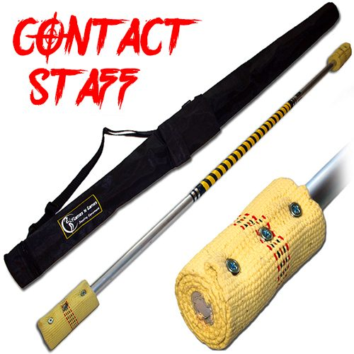 Quality made Contact Fire Staff 2x100mm Wick And Travel Bag