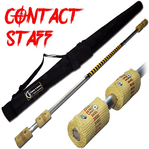 Quality made Contact Fire Staff 6x65mm Double Burner Wick And Travel Bag