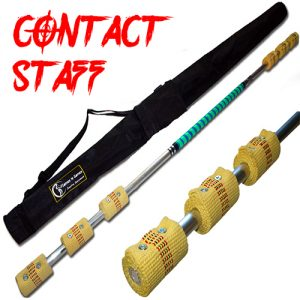 Quality made Contact Fire Staff 6x65mm Triple Burner Wick And Travel Bag