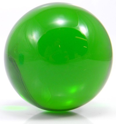 Green - FNG Coloured Acrylic Contact Balls