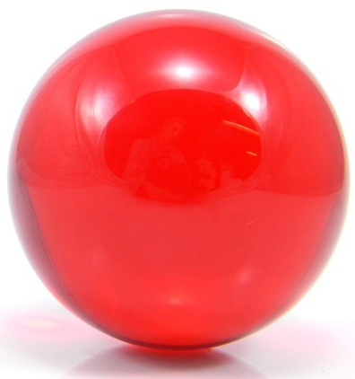 Red - FNG Coloured Acrylic Contact Balls
