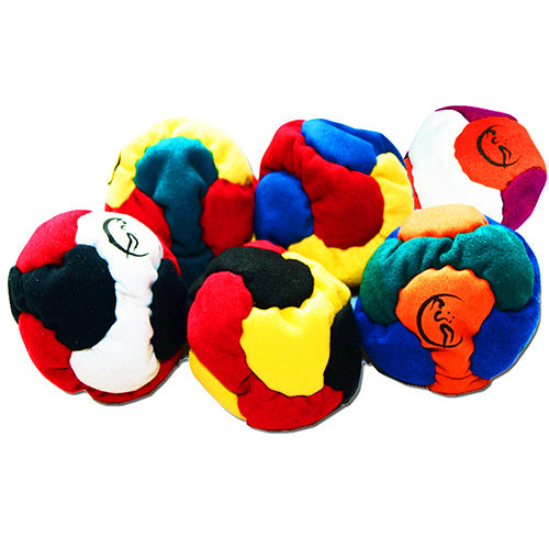 Hacky Sacks 6 panel Footbags