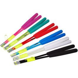 Colourful Juggle Dream Coloured Fibre Handsticks