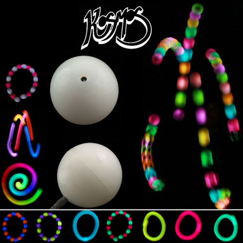 Kosmos LUNAR Rechargeable LED Glow Juggling Ball - 65mm