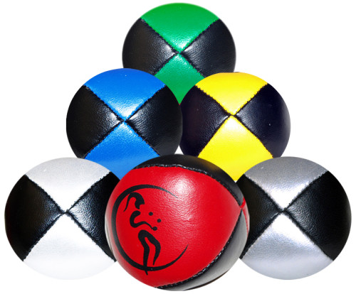 Leather Pro Thud Juggling Balls - 110g