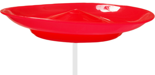 Spinning Plate-Red