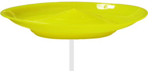 Spinning Plate-Yellow
