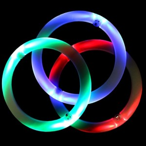 Juggle-Light LED Juggling Rings