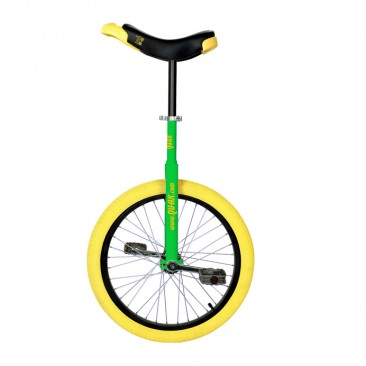"Green - Qu-Ax Luxus 20"" Trainer Unicycle"