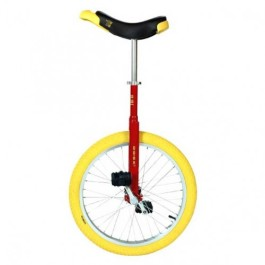 "Red - Qu-Ax Luxus 20"" Trainer Unicycle"