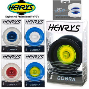 Henry's Cobra YoYo Front Cover 1