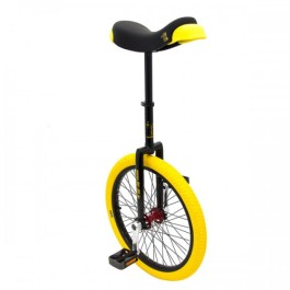 "Black - Qu-Ax Professional Freestyle 20"" Unicycle"