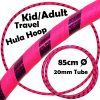 Hula-Hoop-Kid-Weighted-Travel-Hula-Hoops-Pink-Purple-Glitter