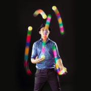 LED Juggling Balls - Glow Juggling Ball Sets