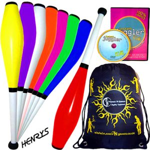 Henrys-Delphin-Pro-Training-Juggling-Clubs-Set-of-3-DVD-BAG