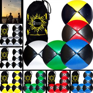 Pro-Juggling-Balls-Thud-Juggling-Ball-Set-of-5-Bag-MIX.