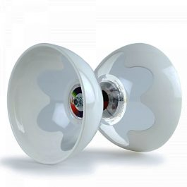 The fantastic HyperSpin T Bearing Diabolo in White.