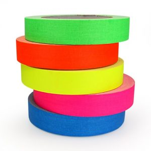 Fluorescent Family Pro Gaff Hula Hoop Decorative Tapes