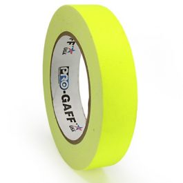 Fluorescent Yellow Pro Gaff Hula Hoop Decorative Tapes