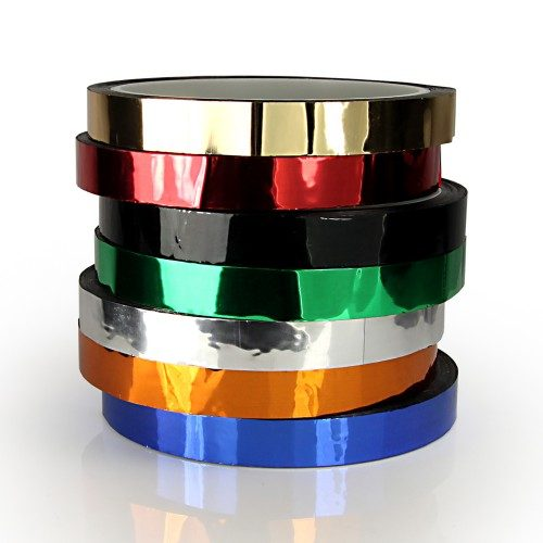 Metallic 12mm Gaff Family Hula Hoop Decorative Tapes