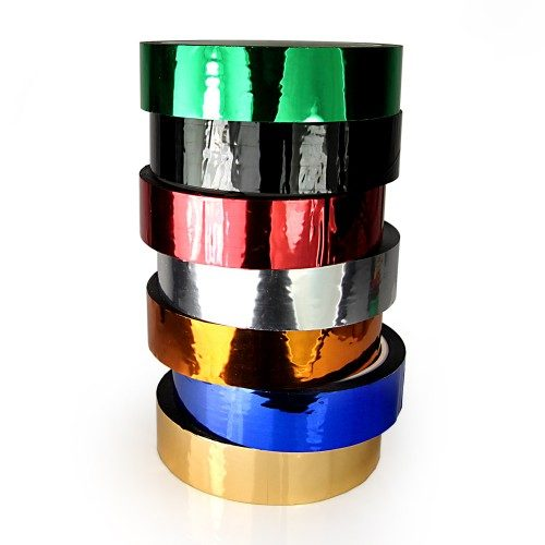 Metallic 25mm Gaff Family Hula Hoop Decorative Tapes