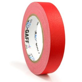 Red Pro Gaff Hula Hoop Decorative Tapes