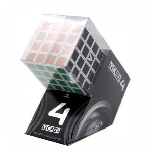 V-Cube 4x4x4 Straight Edition Puzzle Cube Side Angle Package