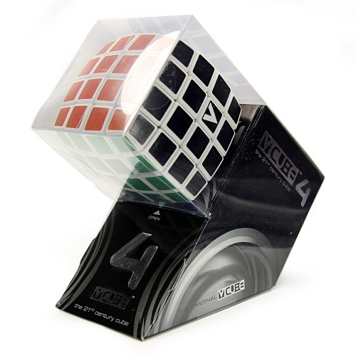 V-Cube 4x4x4 Pillow Edition Puzzle Cube Side Angle Package