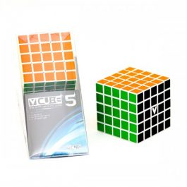 V-Cube 5x5x5 Straight Edition Puzzle Cube Front & Packaged View