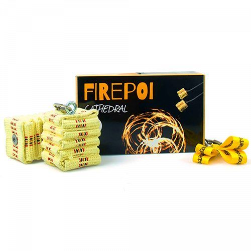 FireToys Cathedral Wick Fire Poi 66CM Main Picture