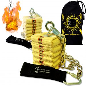 Fire Poi Cathedral Chain Set