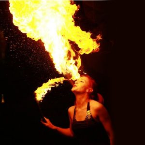 Fire Eating & Breathing Sticks