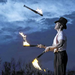 Fire Juggling Torches