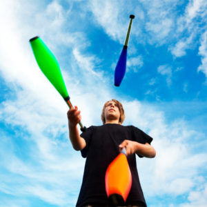 Juggling Clubs
